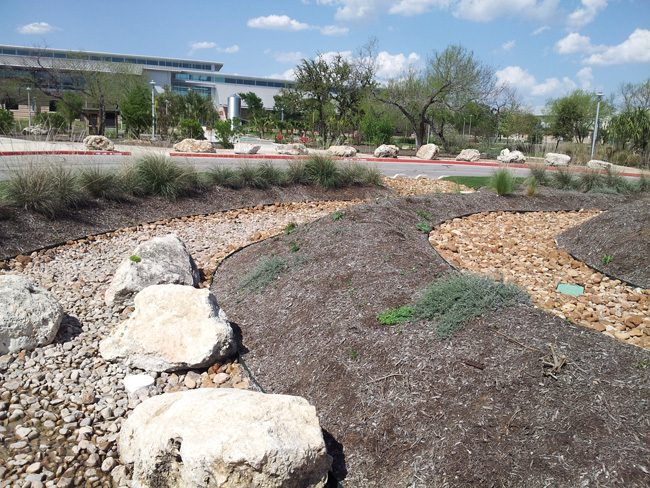 The art of the dry streambed